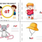 Kindergarten Word Family Mini Picture Booklet